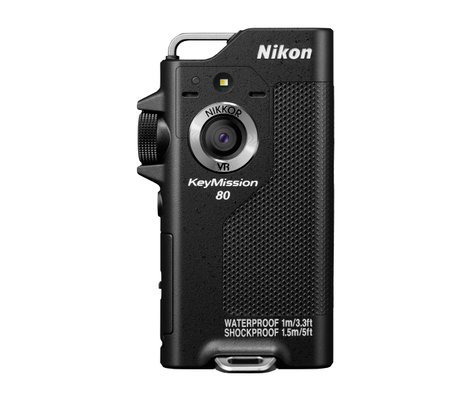 Nikon KeyMission 80 12.4MP Compact Digital Camera in Black 26502