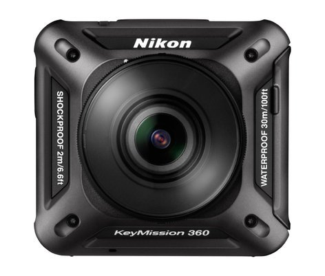 Nikon 26513 KeyMission 360 in Black 26513