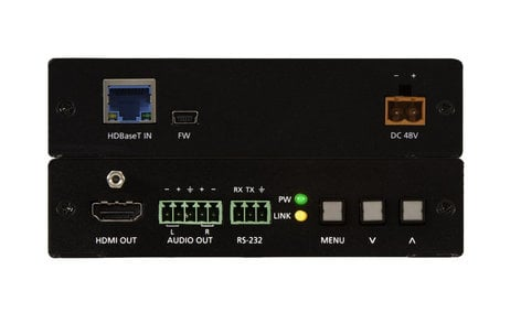 Atlona Technologies AT-HDVS-150-RX  HDBaseT Scaler with HDMI and Analog Audio Outputs  AT-HDVS-150-RX