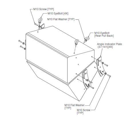 Yamaha VAF2-2115 Vertical Array Frame for IF2115 Speakers (Except AS Model), Black VAF2-2115