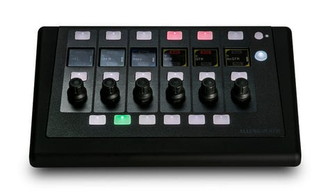 Allen & Heath IP6 6 Rotary Input and 6 Bank and 8 Soft Keys IP Based Remote Control IP-6