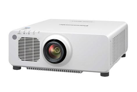 Panasonic PT-RZ660WU 6200 Lumen Laser Projector in White PTRZ660WU