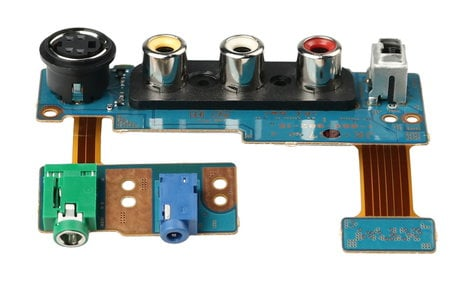 Sony A7078952A  JK-267 Mounted PCB for DSR-PD170 A7078952A