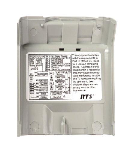 Telex F.01U.110.908 Bottom Case with Clip for BP-325 F.01U.110.908