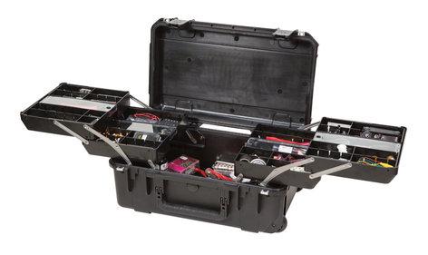SKB 3I-2011-7B-TR  iSeries 3i-2011-7 Waterproof Tech Box with Dual Trays 3I-2011-7B-TR