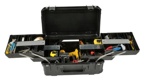 SKB Cases 3I-2011-7B-TR  iSeries 3i-2011-7 Waterproof Tech Box with Dual Trays 3I-2011-7B-TR