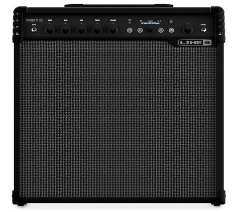 "Line 6 Spider V 120 1x12"" Guitar Amp, 120W SPIDER-V-120"