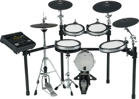 Yamaha DTX920HWK Electronic 9-Piece Drum Kit with Hardware Kit and Sequencer DTX920HWK