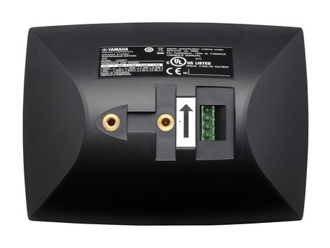 """Yamaha VXS3FT 3.5"""" Surface Mount Speakers, 70/100V, Sold In Pairs, Black VXS3FT"""