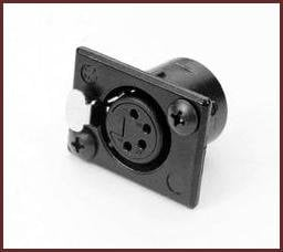 Littlite XLR-PS4 XLR Socket 4 Pin for X Series  XLR-PS4