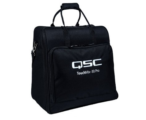 QSC TM-30-TOTE TouchMix-30 Carrying Tote Padded Polyester Tote Bag for TouchMix-30 Pro TM-30-TOTE