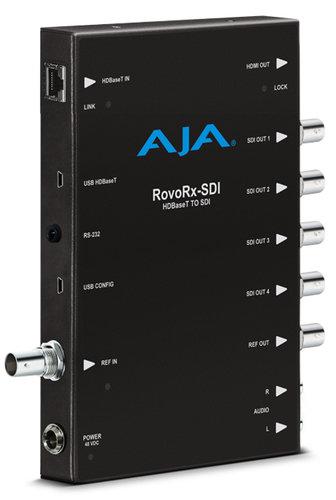 AJA ROVORX-SDI UltraHD/HD HDBaseT Receiver to 6G/3G-SDI & HDMI Frame Sync ROVORX-SDI