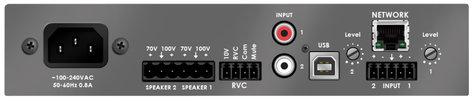 Stewart Audio DSP100-2-LZ-D  2 Channel DSP-Enabled Amplifier, 2 x 100W/50W @ 4/8 Ohms, Dante™ Network Enabled DSP100-2-LZ-D