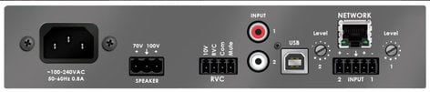 Stewart Audio DSP100-1-CV-D DSP Processor 100w 70v/100v, 2 Dante Channels In DSP100-1-CV-D