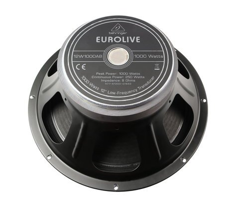 """Behringer X77-61200-01693 12"""" Woofer for B212, B212A, and B212D X77-61200-01693"""