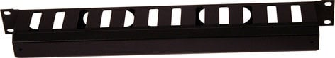 Gator Cases GRW-PNLCBLMNG1 NLCBLMNG1 1RU Cable Management with Cap GRW-PNLCBLMNG1