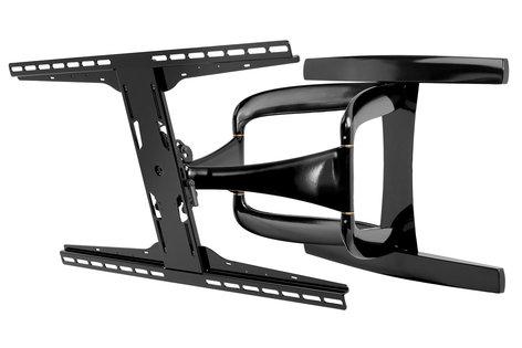"Peerless SUA771PU  DesignerSeries Universal Ultra Slim Articulating Wall Mount, for 42"" to 90"" Ultra-thin Displays SUA771PU"