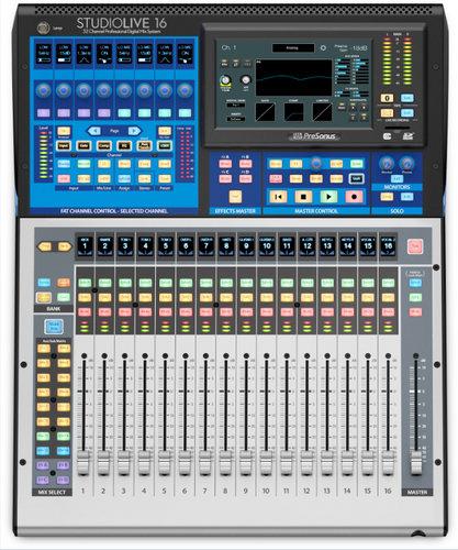 PreSonus StudioLive 16 16-Channel Digital Console/Recorder STUDIOLIVE-16