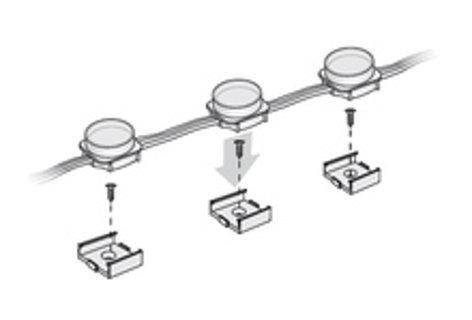Philips Color Kinetics 101-000039-00 50-Pack of iColor Flex Single Node Mounts 101-000039-00