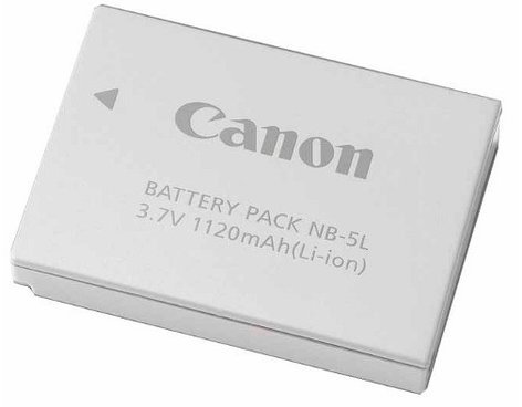 Canon NB-5L Rechargeable Li-Ion Battery Pack for PowerShot Cameras NB5L