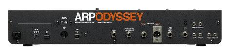 Korg ARP ODYSSEY Module Rev3 Duophonic Synthesizer - Black and Orange ARPMODULE3