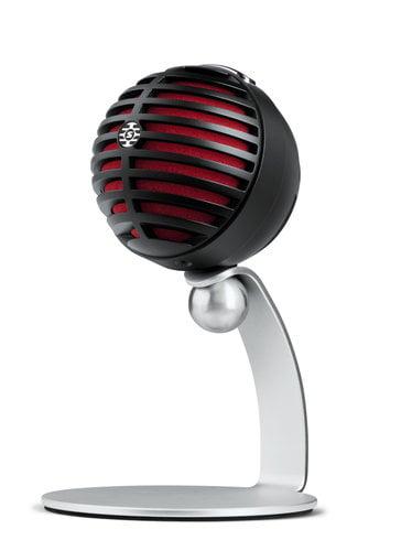 Shure MV5 Digital Condenser Microphone, Black MV5/A-B-LTG