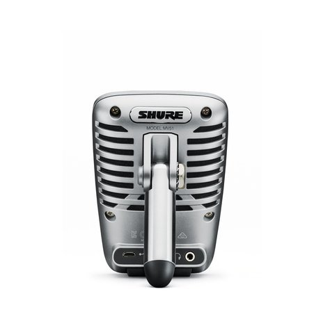 Shure MOTIV MV51 Digital Large-Diaphragm Condenser Microphone MV51/A