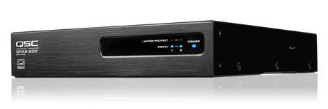 QSC SPA2-200 1/2 RU 2 Channel ENERGY STAR Amplifier SPA2-200