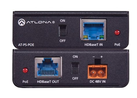 Atlona Technologies AT-PS-POE Power Over Ethernet Mid-Span Power Supply AT-PSPOE