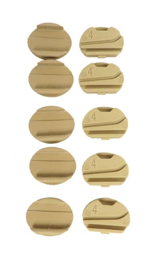 Sennheiser 528167 Beige Mic Clip for HSP4 (10-Pack) 528167