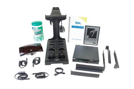 Listen Technologies LS-100-01-GY  ListenIR iDSP Standard System, Gray Radiator LS-100-01-GY