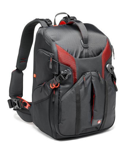 Manfrotto Pro Light 3N1-36 Professional Camera Backpack for DSLRs, Canon C100, or DJI Phantom Drone MB-PL-3N1-36