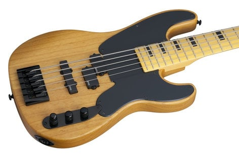 Schecter Guitars Model-T Session-5 5-String Bass Guitar MODEL-T-SESSION5