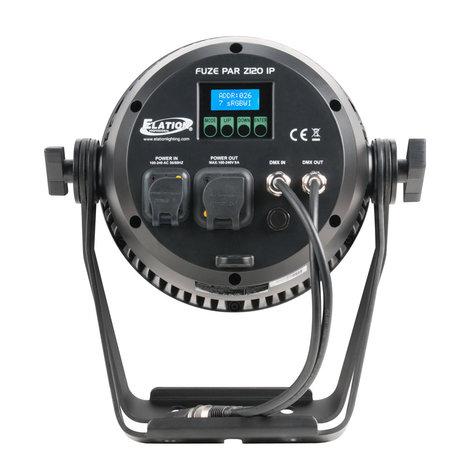 Elation Pro Lighting FUZE-PAR-Z120  120w RGBW COB Par with Zoom FUZE-PAR-Z120