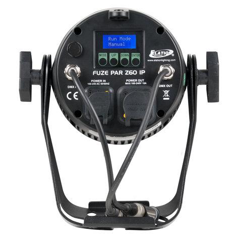 Elation Pro Lighting FUZE-PAR-Z60  60W RGBW Par with Zoom FUZE-PAR-Z60