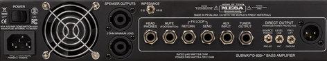 Mesa Boogie Ltd SUBWAY D-800+ 800W Bass Amp Head SUBWAY-800+