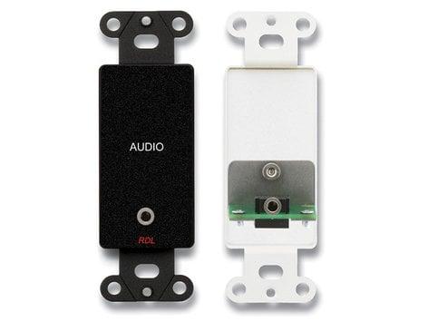 Radio Design Labs DB-MJPT  Mini-Jack Pass-Through Plate  DB-MJPT