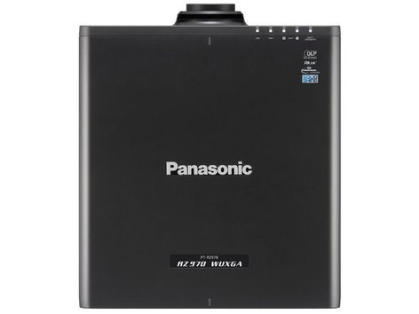 Panasonic PT-RZ970BU 10,000 Lumen WUXGA Laser Projector in Black PTRZ970BU
