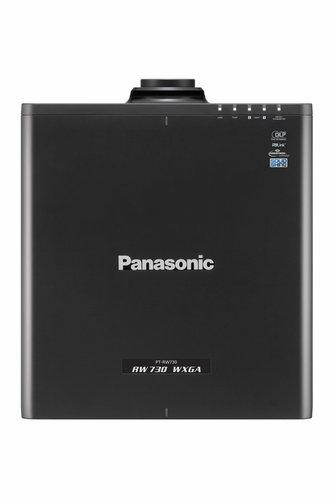 Panasonic PTRW730LBU 7200lm WXGA Laser Projector in Black with No Lens PTRW730LBU