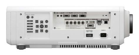 Panasonic PTRW730LWU 7200lm WXGA Laser Projector in White wtih No Lens PTRW730LWU
