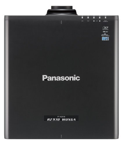 Panasonic PT-RZ970LBU 10,000 Lumen Single Chip DLP Laser Projector In Black - Lens Sold Separately PTRZ970LBU