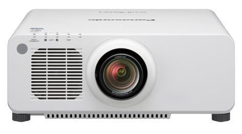 Panasonic PT-RZ970LWU 10,000 Lumen Single Chip DLP Laser Projector In White - Lens Sold Separately PTRZ970LWU