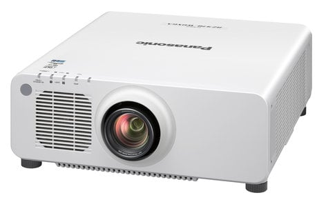 Panasonic PT-RZ970WU 10,000 Lumen Single Chip DLP Laser Projector In White with Lens PTRZ970WU