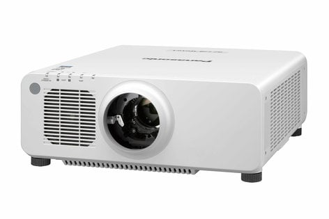 Panasonic PTRZ770LWU 7200lm WUXGA Laser Projector in White with No Lens PTRZ770LWU