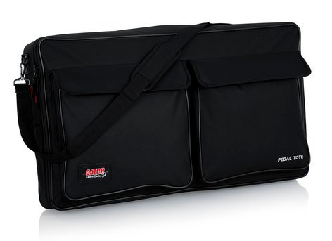 Gator Cases GPT-PRO-PWR Pedal Board with Gig Bag and Power Supply, Pro Size GPT-PRO-PWR