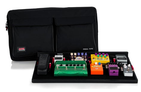 Gator GPT-PRO-PWR-BSTOCK MODEL Pedal Board with Gig Bag and Power Supply, Pro Size GPT-PRO-PWR-BSTOCK