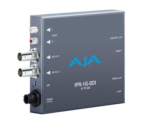 AJA IPR-1G-SDI  JPEG 2000 IP Video & Audio 3G-SDI Mini Converter IPR-1G-SDI