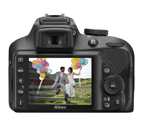 Nikon D3400 Two Lens Kit DX-Format 24.2 MP DSLR with 2 NIKKOR Lenses 1573-NIKON