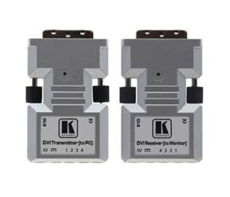Kramer 610TR Detachable DVI Optical Transmitter & Receiver 610TR