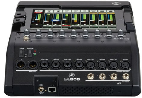 Mackie DL806-LIGHTNING [B-STOCK MODEL] 8-Channel Digital Live Sound Mixer with for iPad with Lightning Connector DL806-LIGHTNING-B